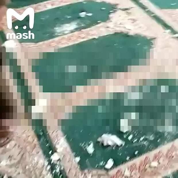 Осторожно, жёсткие кадры! В шиитской мечети в афганском Кандагаре взорвался...