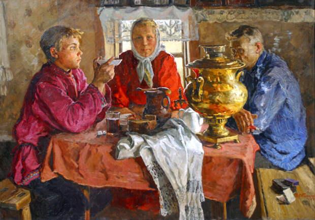 Важные разговоры без чашки чая никак