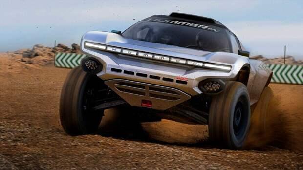 GMC Hummer EV собирается участвовать в раллийных гонках …