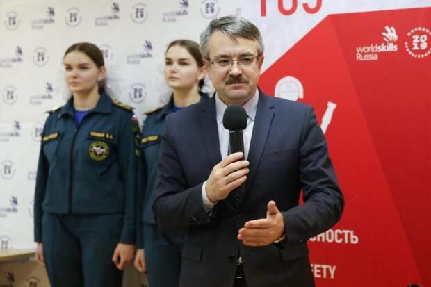 В чемпионате «Молодые профессионалы» World Skills Russi победили студенты пожарно-технического колледжа