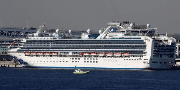 На борту лайнера в Японии нет зараженных коронавирусом россиян