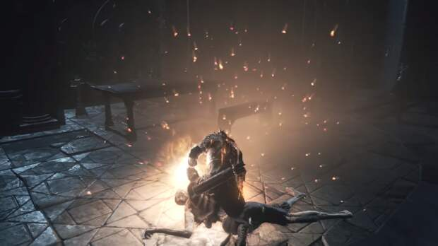 Ютубер показал, как в альфе Dark Souls 3 можно было создавать костры почти в любом месте  | Канобу - Изображение 3