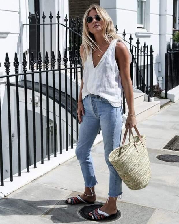 Модные соломенные сумки 2021: с чем их носить в городе
