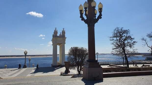 Центральная набережная Волгограда. Современный вид