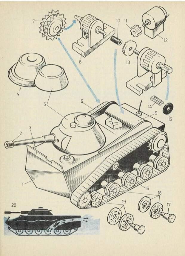 Самоделки для ТВ и «танк Делахайе»