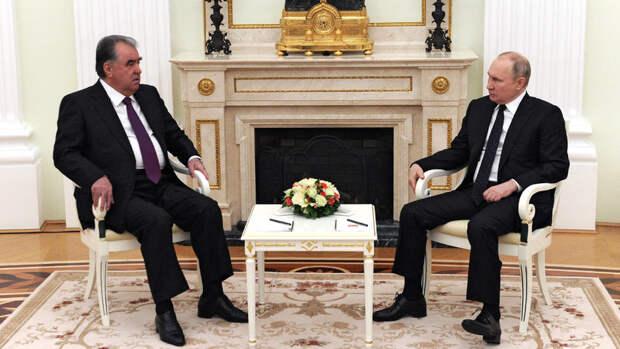 Путин и Рахмон констатировали нехватку рабочих мигрантов в России
