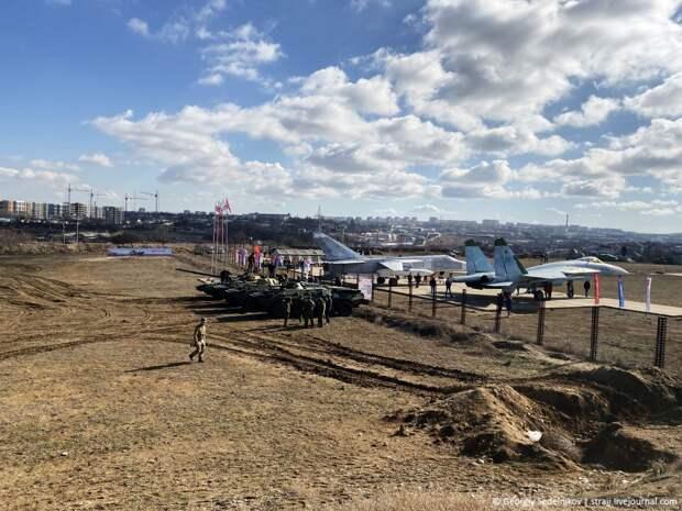 """В севастопольском парке """"Патриот"""" прошла реконструкция афганского боя"""