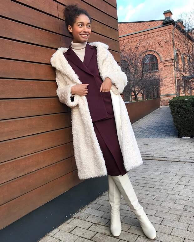 Модные образы зимы 2019 для бизнес-леди фото 14