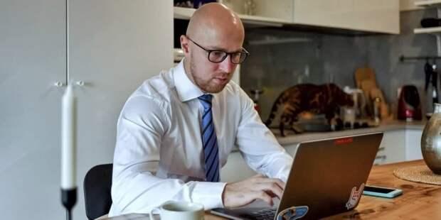 Наталья Сергунина рассказала о новом онлайн-сервисе для предпринимателей Москвы Фото: Ю. Иванко mos.ru