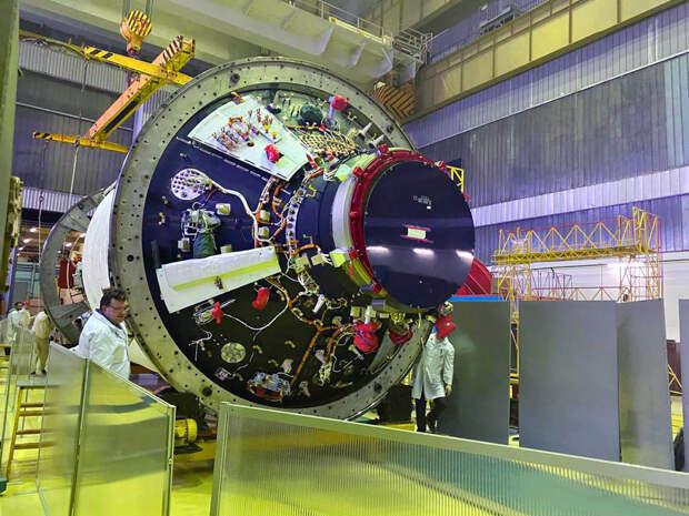 Спустя 25 лет работы российский модуль «Наука» готов