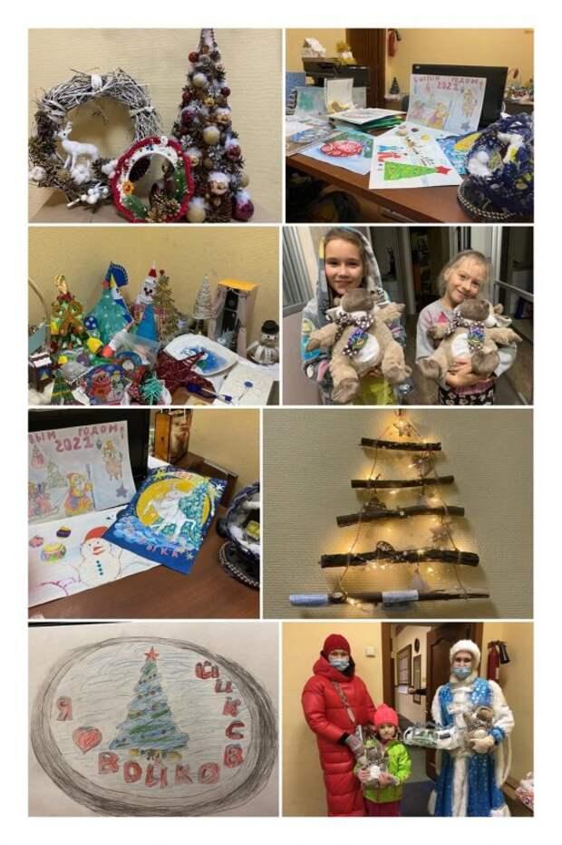 В управе подвели итоги конкурса «Мастерская Деда Мороза»