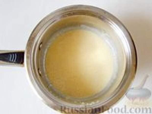 Фото приготовления рецепта: Медовик апельсиновый - шаг №3