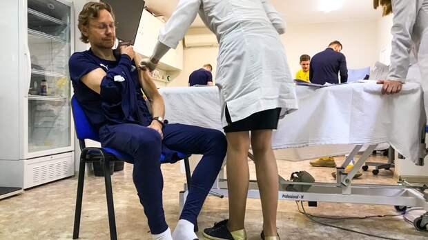 ФК«Ростов» иКарпин сделали прививки откоронавируса