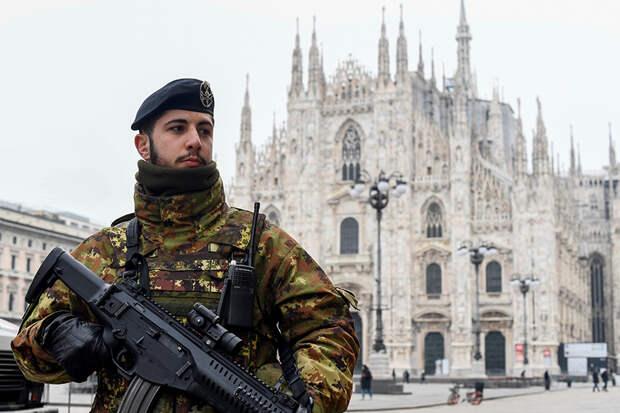 Власти Италии ограничили передвижения на всей территории страны