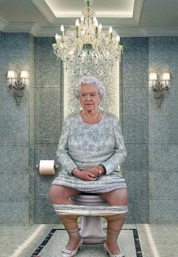 «Белые лебеди» над Лондоном напомнят и королеве-матери, и британцам, как в бомбоубежище бегать