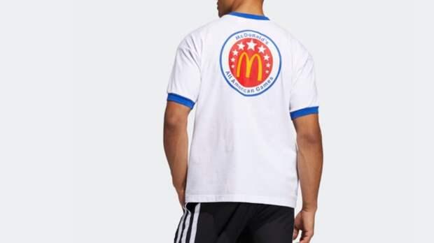 Adidas и McDonald's представили совместную коллекцию одежды