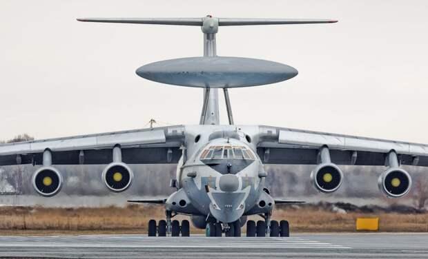 Российские военные отправили в Сирию «летающий радар» А-50