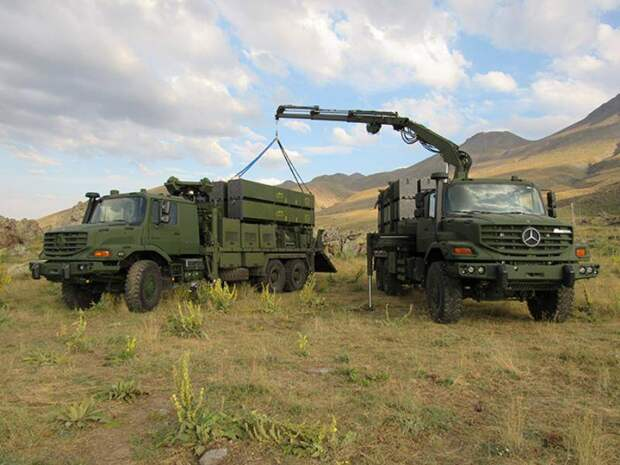Турецкий зенитно-ракетный комплекс HISAR