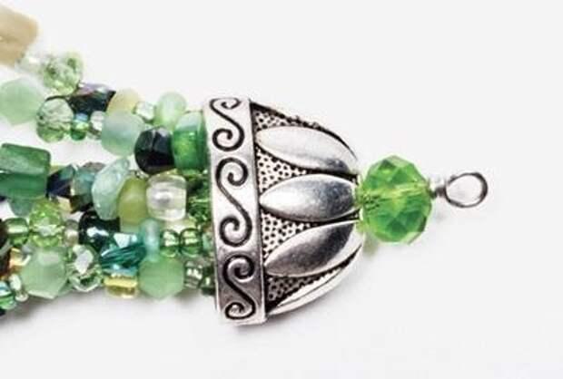 Сказочное ожерелье и браслет 3