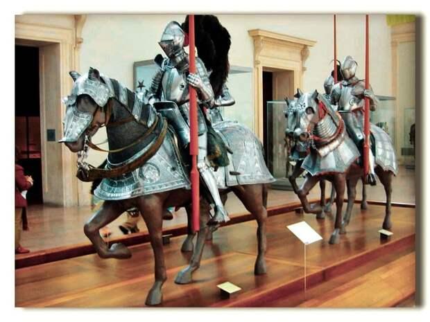 Доспехи и вооружение средневековых рыцарей