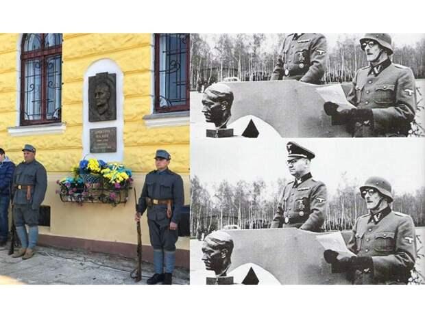 Взамен барельефа Жукову