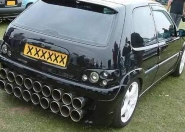 Прикольные и необычные автомобили