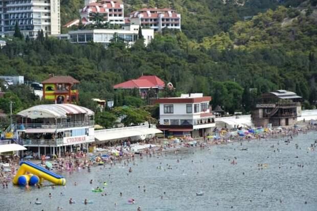 Крым находится в числе лидеров среди регионов РФ по количеству отдыхающих