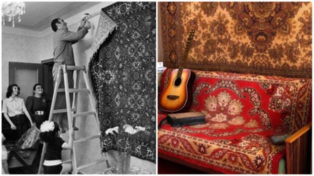 Квартира человека, чьё сердце осталось в СССР: «Ты узнаешь меня по коврику...»