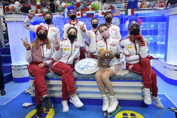 Сборная России по фигурному катанию