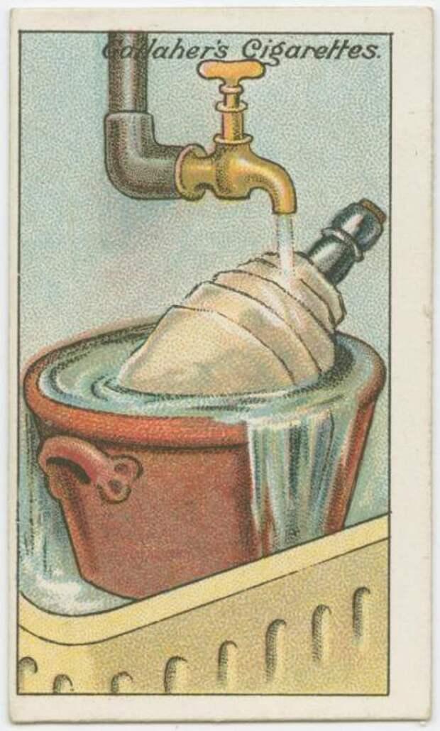 6. Как охладить вино без льда Полезные, советы