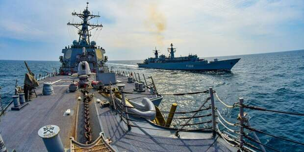 Агрессивное поведение России в Черном море