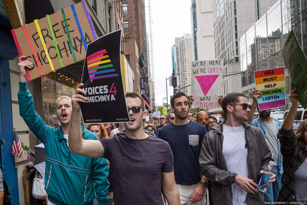 Американцы требуют спасти чеченских геев