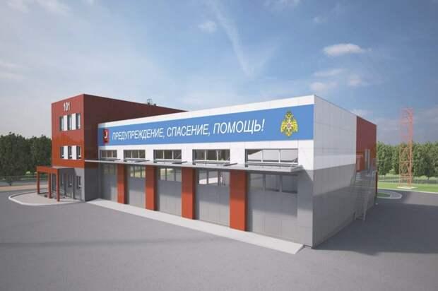Пожарное депо в поселении Щаповское построят в 2020 году