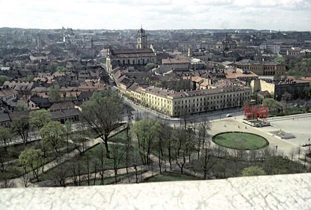 Панорама столицы Литвы, 1965 год.
