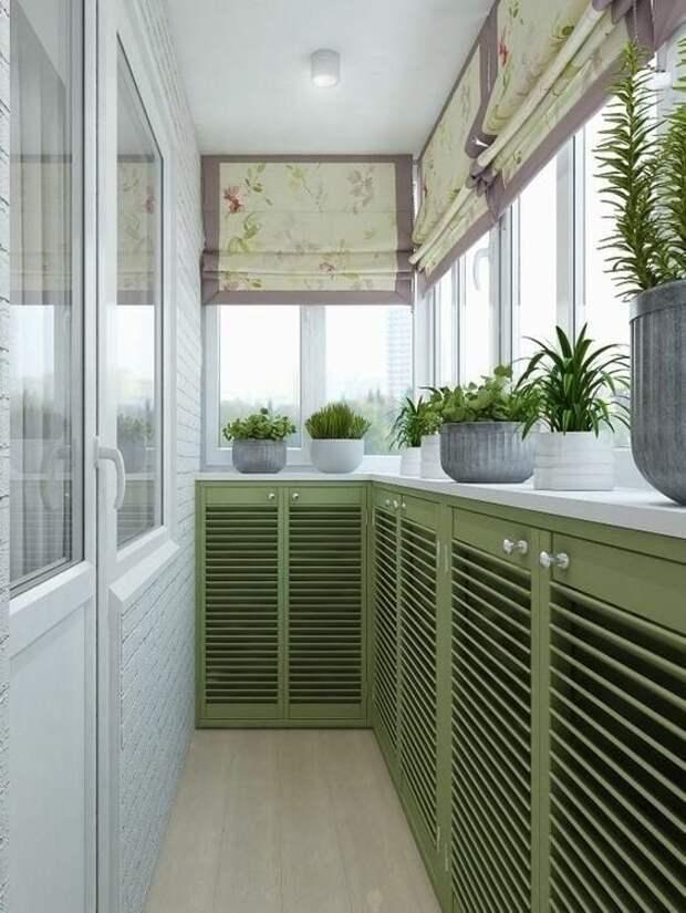 Полезные идеи для маленьких и узких балконов в хрущевке