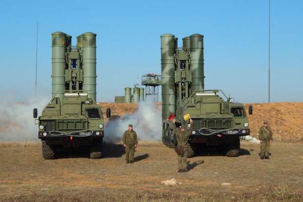 С-400 в Крыму условно уничтожили противника. Источник изображения: