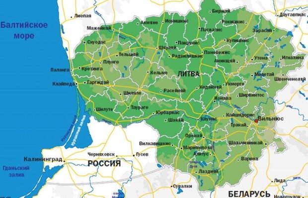 Литва грозит Беларуси и России санкциями. Смотрим, чего лишится Литва, если санкции ей объявит Россия