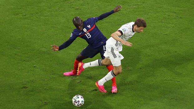 Битва последних чемпионов мира: Франция обыграла Германию благодаря автоголу Хуммельса на Евро-2020