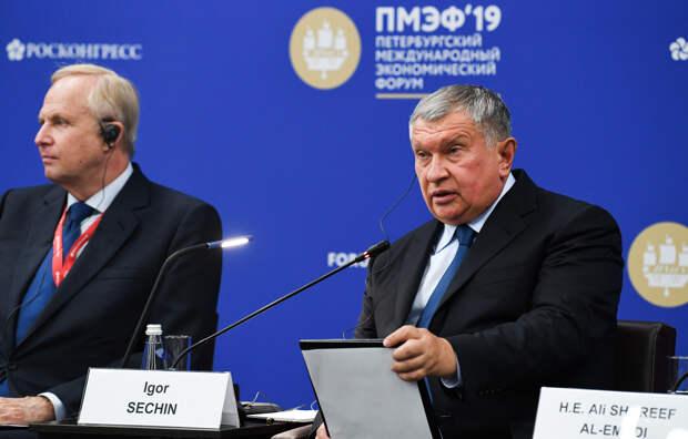 Игорь Сечин: американцы завладели некоторыми отраслями промышленности России