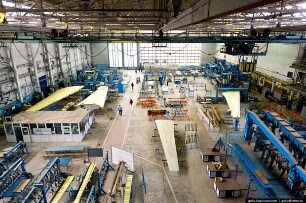 Производство самолётов-амфибий Бе-200ЧС в Таганроге