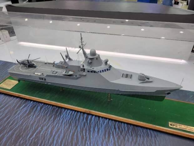 Афера перезапускается: показан новый вариант «патрульного корабля» 22160