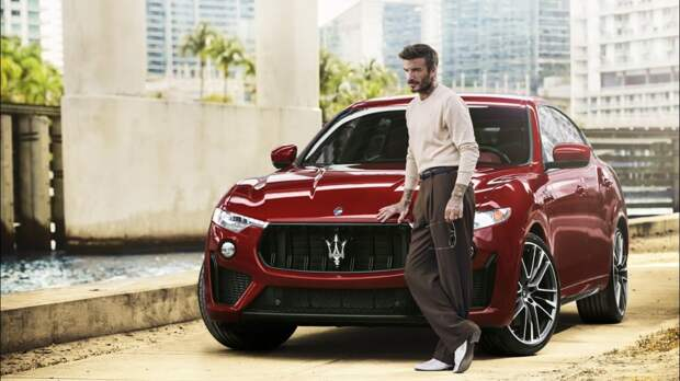 Дэвид Бэкхем стал послом бренда Maserati