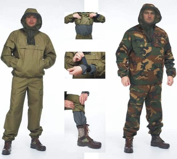 Противоэнцефалитный костюм: самые эффективные модели и их преимущества