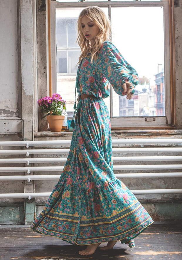 Летние платья в стиле бохо фото 7