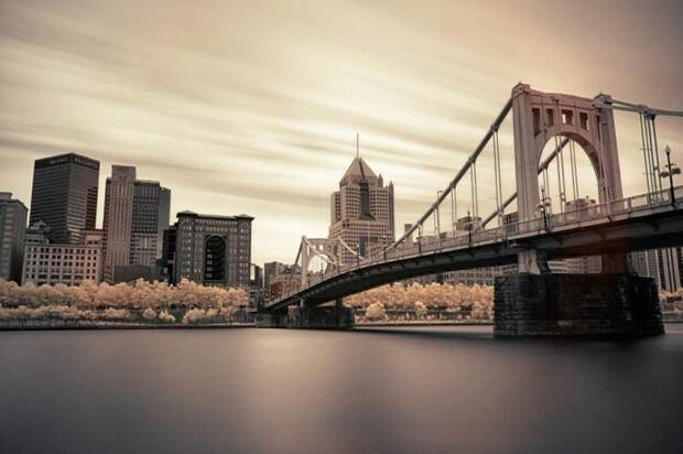 Мост Роберто Клементе (Пенсильвания, США). (Фото Joey Gannon/Kolari Vision):