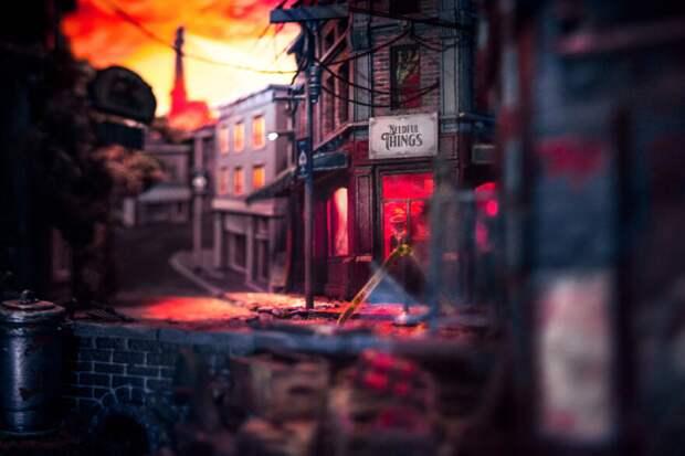 Девушка создала миниатюрную версию города Касл-Рок по роману Стивена Кинга