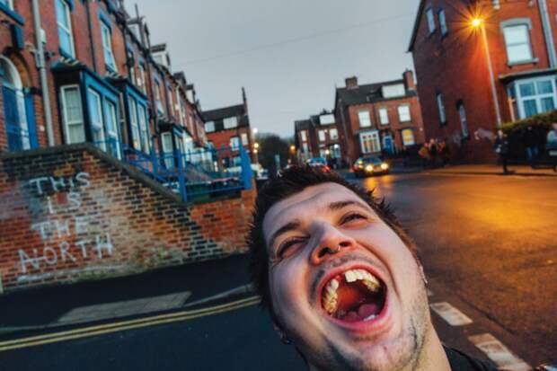 10 грязных фото британских сквотеров и панков
