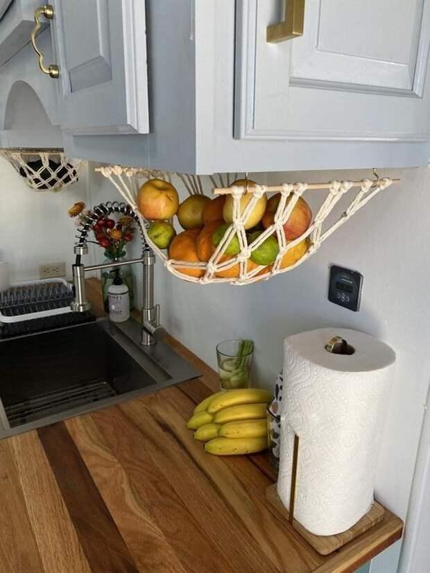 Макраме на кухне