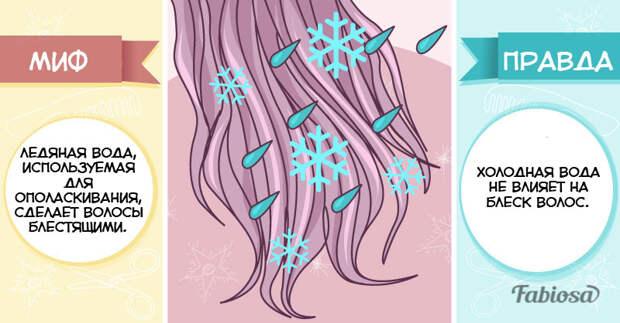 10 популярных мифов об уходе за волосами и вся правда о них