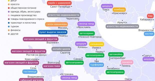 Яндекс узнал, о каких вариантах своего дела задумываются россияне